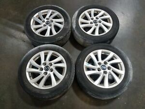 13 Mazda3 16 10 Spoke Alloy Wheels W 205 55r16 Tires 6 32 Tread Oem Lkq
