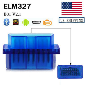 Elm327 V1 5 Obd2 Bluetooth Car Diagnostic Auto Interface Scanner For Android