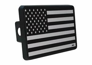 Usa American Flag Trailer Hitch Cover Plug Us Patriotic Subdued Military Veteran