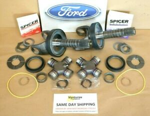 Ford F250 F350 Front Axle Shaft Seal And Bearing Kit Common Wear Items 1998 2004