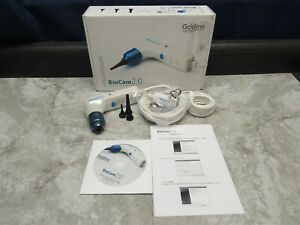 New Goldline Biocam 2 0 Veterinary Video Otoscope Handheld System For Vets