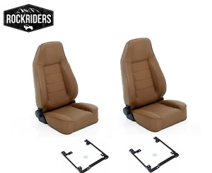 1997 2002 Jeep Wrangler Front Seats Reclining Driver And Passenger With Brackets