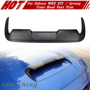 2020 Painted Fit For Subaru Wrx Sti 4th Levorg Dto V Front Hood Scoop Vent Trim