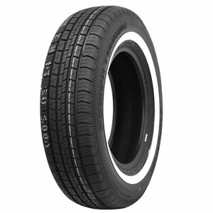 New Suretrac Power Touring White Wall Tire 235 75r15 2357515 1 5 Inch Wsw