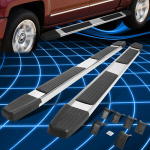 For 09 20 Ram 1500 Quad Cab 6 Stainless Step Nerf Bar Running Board Replacement