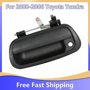 For Toyota Tundra 2000 2006 2005 Tailgate Handle Black Textured Pickup Truck