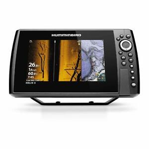 Humminbird Helix 8 G3N Fish Finder with Chirp MEGA SI GPS and 8 Inch Display