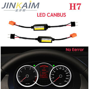 2xh7 Error Free Canbus Decoder For Led Headlight For Car Suv Adapter Led Can bus
