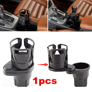 1x Car Accessories Drink Cup Holder Console Mount Stand Keys Coins Organizer