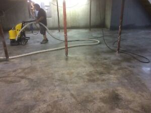 Concrete Grinder Polishing Machine 550mm Grin Path Floor Surface Prep 5 5hp Used