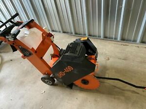 Jhd 4ooe Walk behind Concrete Floor Saw 3phase 220v 10hp Electric Motor Wet dry