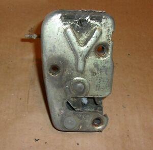 1970 Triumph Spitfire Door Latches Left And Right Project Parts Spit Fire