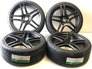 20 Wheels Fit Mercedes Benz With Tires S63 S550 Cls550 E350 Amg E63 Cl63 E 550