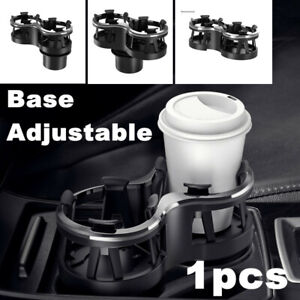 Adjustable Car Accessories Universal Console Cup Drink Bottle Stand Storage Box