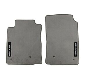 Genuine Oem Light Charcoal Front Carpet Floor Mats For Toyota Tacoma 05 11