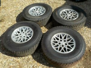87 01 Jeep Cherokee Xj Wrangler 4 15x7 Wheels Rims 31 Tires Local Pickup Only