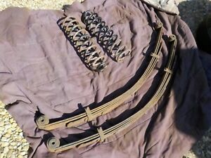 87 01 Jeep Cherokee Xj Used Front And Rear 3 Lift Springs Local Pickup Only