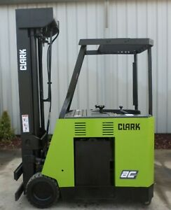 Clark Esx25 2011 5000 Lbs Capacity Great Electric Stand Up Docker Forklift