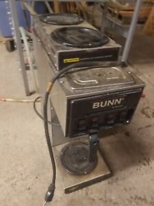 Bunn S Series Commercial Coffee Maker With 3 Warmers