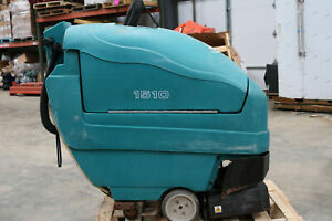 Tennant 1510 22 Walk Behind Carpet Extractor Cleaner Runs As is See Details