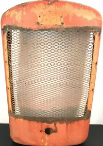 Vintage Ford Tractor Grille Grill Housing Screen Rat Rod Man Cave Great Patina