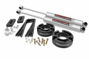 Rough Country 2 5 Leveling Kit Fits 2004 2008 Ford F150 W n3 Shocks Suspension