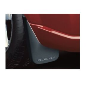 Mopar New Rear Black Splash Guards Mud Flaps For Dodge Durango 2011 2019