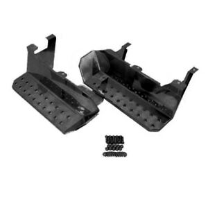 Rugged Ridge Side Steps Black Cj 76 86 11139 02