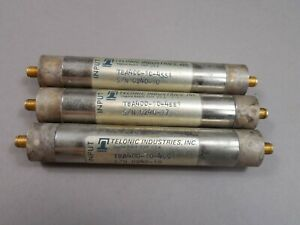 Lot Of 3 Telonic Industries Tba400 10 4ss1 Tubular Filter