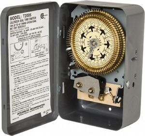 Intermatic 7 Day Indoor Analog Electromechanical Timer Switch 6 On off Per Da