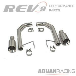 For Mustang 2 3l 3 7l 15 19 Flowmaxx Free Flow Exhaust Kit Stainless Steel