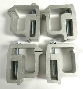 Truck Cap Topper Camper Shell Mounting Clamps Heavy Duty 4pcs