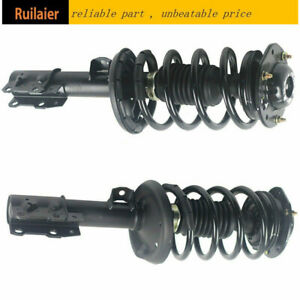 Fit For 07 2009 Saturn Aura Chevrolet Malibu Complete Strut Assembly Front Pair