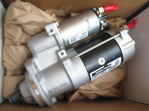 New Genuine Delco Remy Starter Motor 19011407 29mt 12v For International