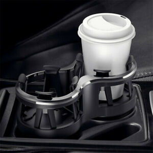 Adjustable Dual cup Drink Bottle Holder For Car Center Console Well Dash Panel