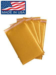 Kraft Bubble Mailers Shipping Padded Envelopes Mailing Bags Buy Made In Usa