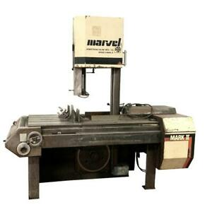 Marvel 8 mark ii Vertical Band Saw 18 X 22 230 Volts 3 Phase