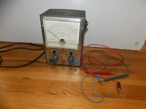 Rca Voltohmyst Wv 77e Volt Meter Powers On