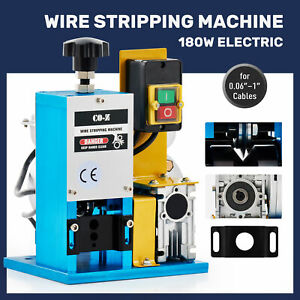 Portable Powered Electric Wire Stripping Machine 1 5 25mm 1 4hp Cable Stripper