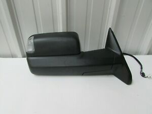 2010 2011 2012 Dodge Ram Pickup Black Towing Oem Right Power Door Mirror D8