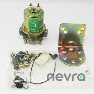 Carter P4070 Universal Rotary Vane Electric Fuel Pump 12v 72 Gph 273 Lph 4 Psi