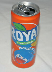 Royal Orange coca cola Philippines Masters of Kulit special empty can