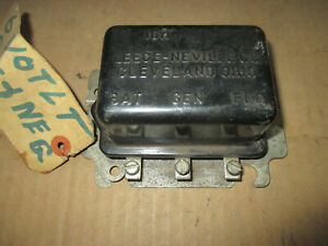 Vintage Leece Neville 6 Volt Voltage Regulator