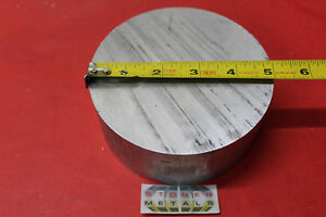 5 Aluminum 6061 Round Rod 3 Long T6511 Solid Extruded Lathe Bar Stock