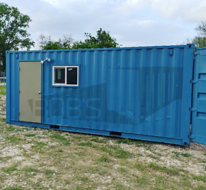 20 Used Shipping Container Hybrid Half Office Half Storage