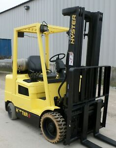 Hyster Model S60xm 2004 6000 Lbs Capacity Great Cushion Tire Forklift