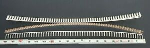 Lot Of 10 New Weidmuller 54350 Terminal Block Jumpers 58 pole Angled 0545300000