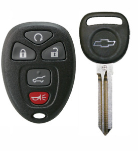 Keyless Entry Remote For Suburban Traverse Tahoe Chip Key With Logo