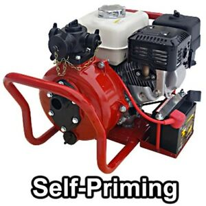 Centrifugal Fire Pump 4500 Gph 155 Psi 1 5 In Multi Discharge 6 Hp