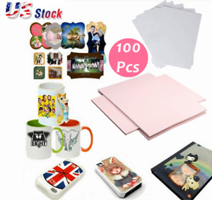 100 Sheets A4 Dye Sublimation Heat Transfer Paper For Mug Cup Plate T Shirt Us